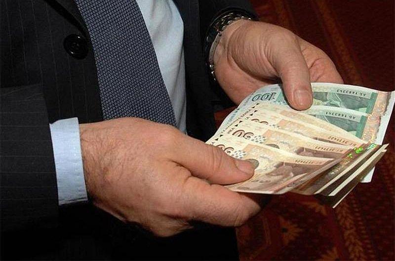 Заплатите в Русенско