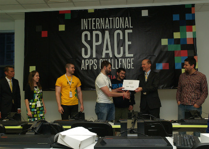 "Български отбор на ""NASA Spece Apps Challenger"""