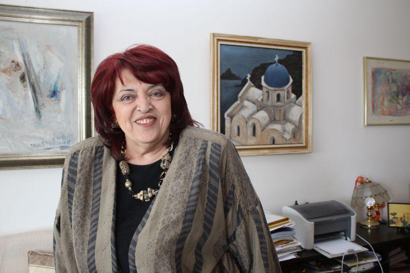 оперната прима Христина Ангелакова