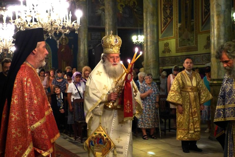 Състоянието на българския патриарх Неофит