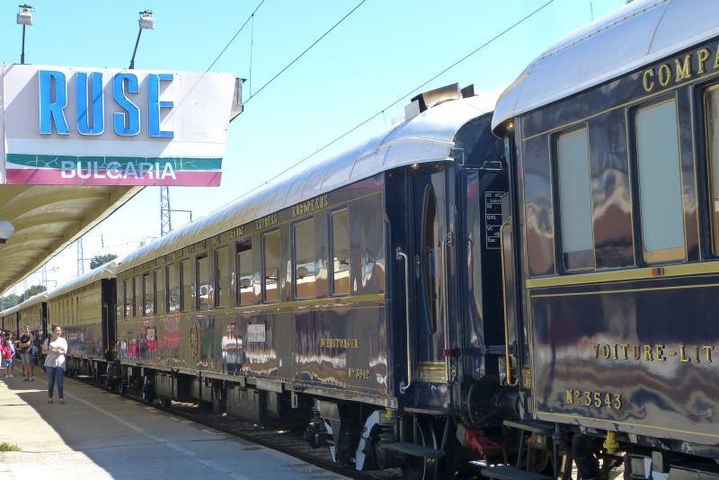 """""""Ориент Експрес"""" ще пристигне в Русе на 27 август"""