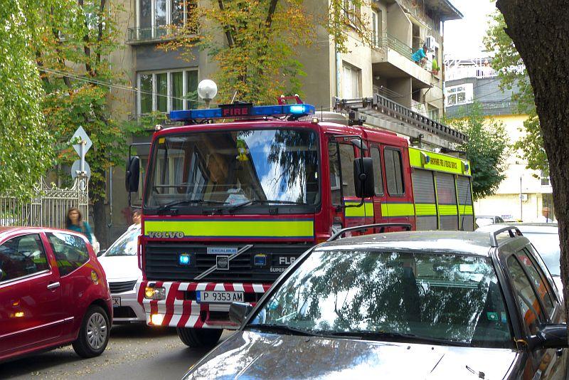 Пожарната в Русе транспортира