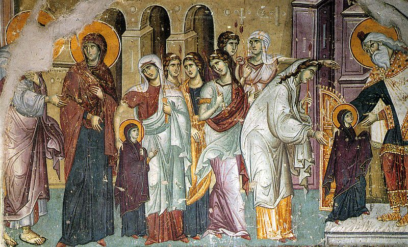 Въведение Богородично Ден на християнското семейство