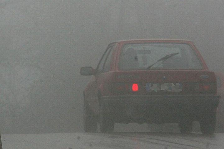 Предупреждение за гъста мъгла