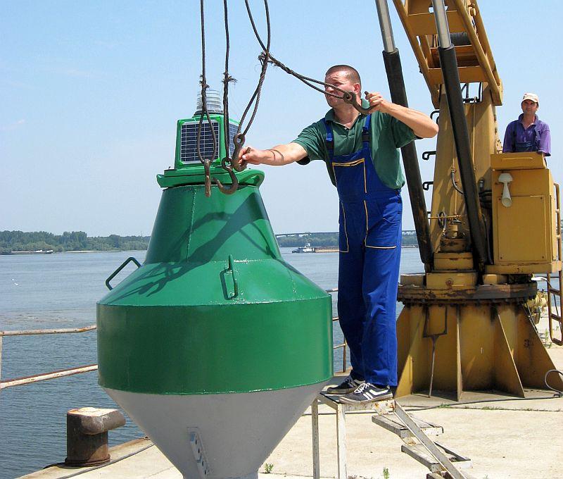 Нов кораб за маркиране на плавателния път