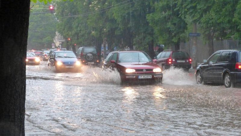 Св. Илия изсипа 31,5 л дъжд за по-малко от час