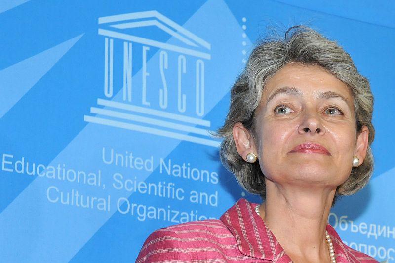 Ирина Бокова остава