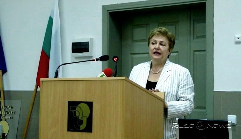 Кристалина Георгиева е подала оставка