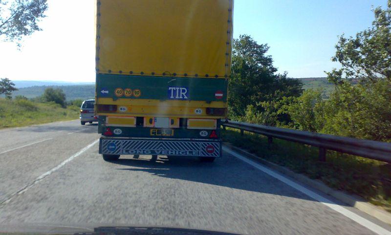 Турски шофьор на ТИР