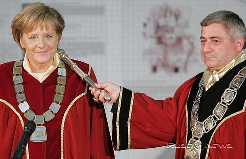 Ангела Меркел поздрави