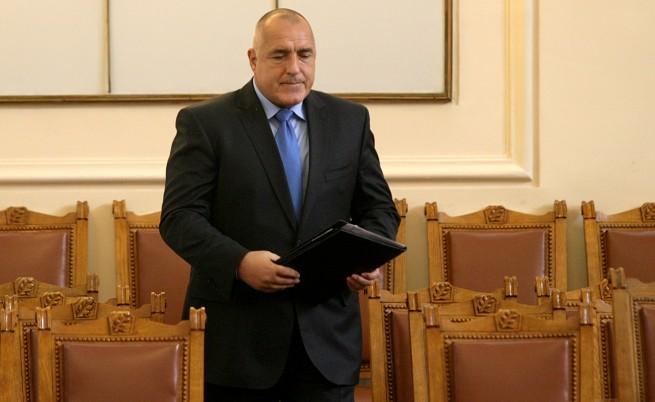 """Оставката на кабинета """"Борисов 2"""""""