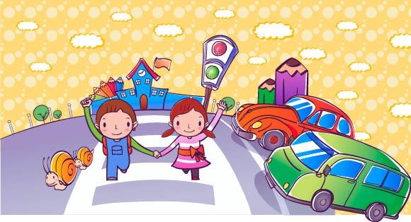 Ваканция! Деца на пътя