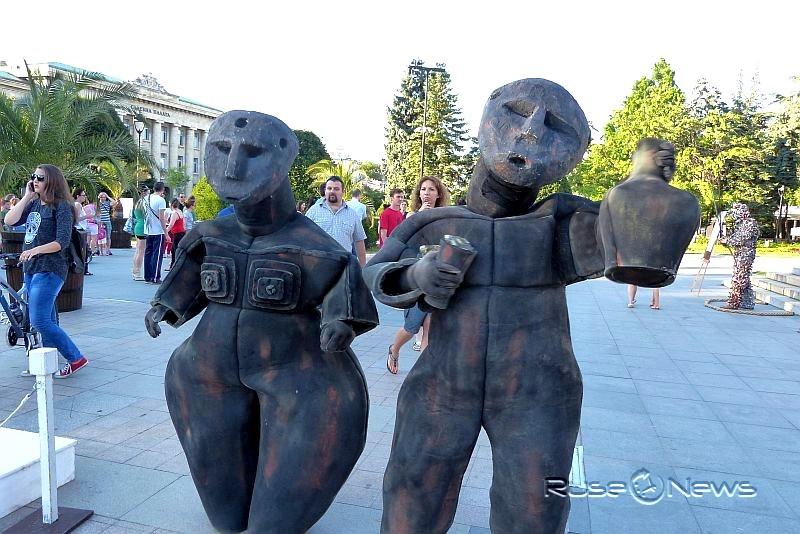 """Фестивалът """"Живи статуи"""""""