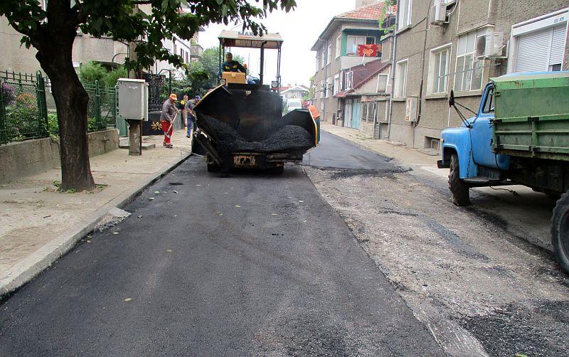 строително-ремонтните дейности по уличната мрежа