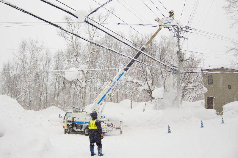 Една трета от селищата в Русенско останаха без ток