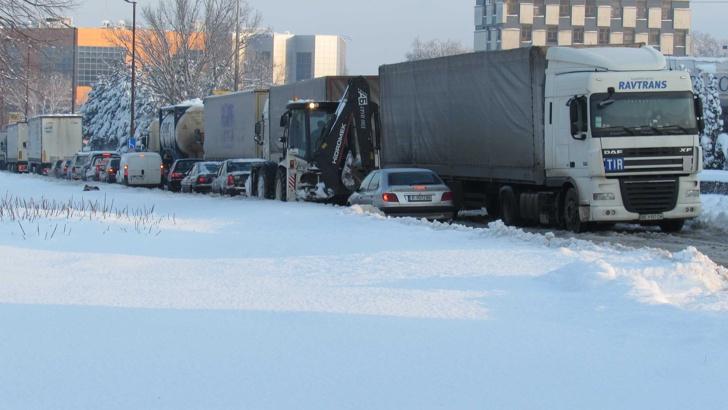 Обстановката в Русенско е усложнена