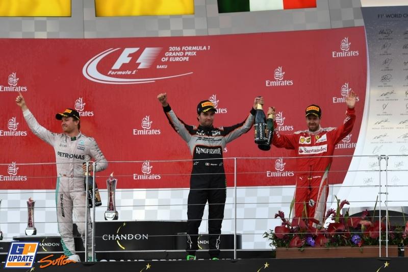 Розберг първи победител в Баку