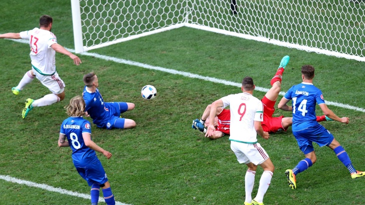 Унгария и Исландия завършиха наравно