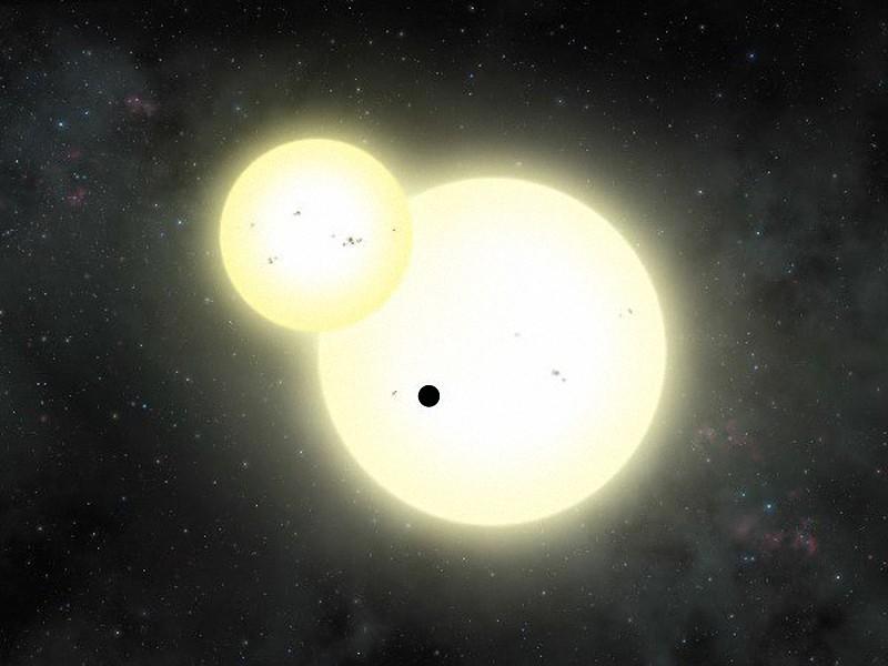 Откривателите на планета с 2 слънца