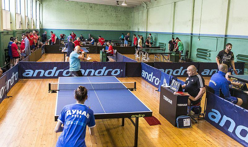 тенис на маса - турнир Корпо