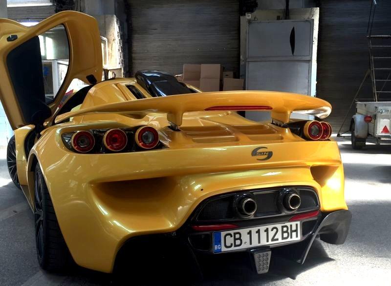 Автомобилът на Росен Даскалов