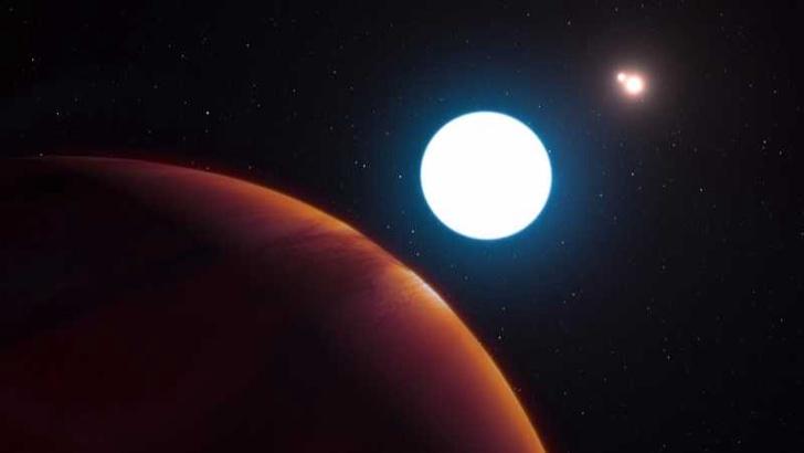 планета с три слънца