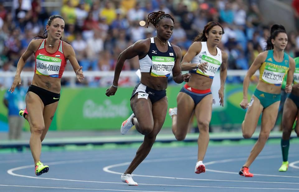 Ивет Лалова-Колио остана на 8-о място във финала на 200 метра при жените на олимпийския турнир по лека атлетика в Рио де Жанейро. на финал