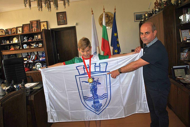 Знаме с герба