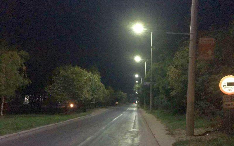 Започват 72-часови проби на новото улично осветление