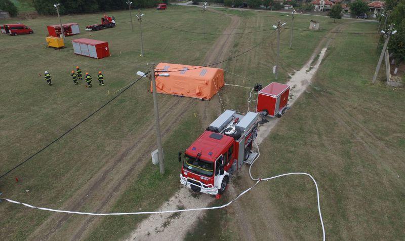 български пожарникари