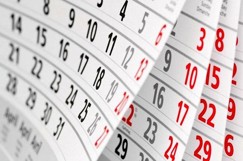 Данъчен календар за м. май 2019 г.