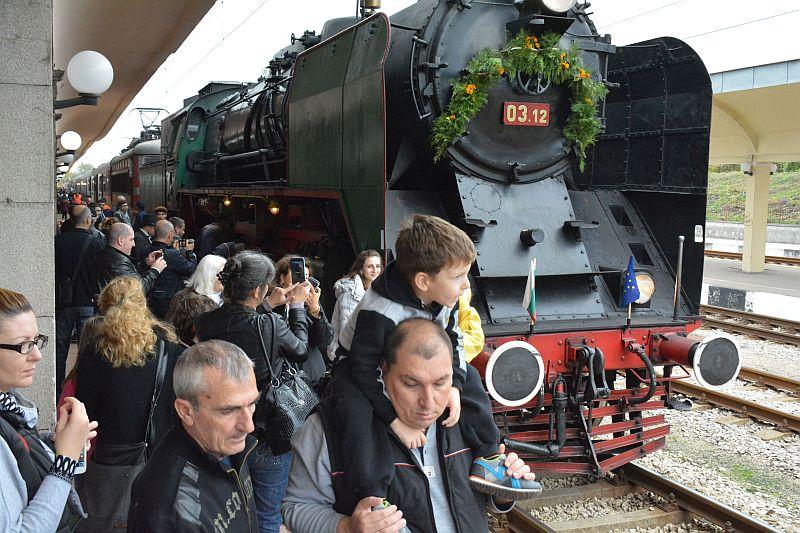 Стотици русенци посрещнаха