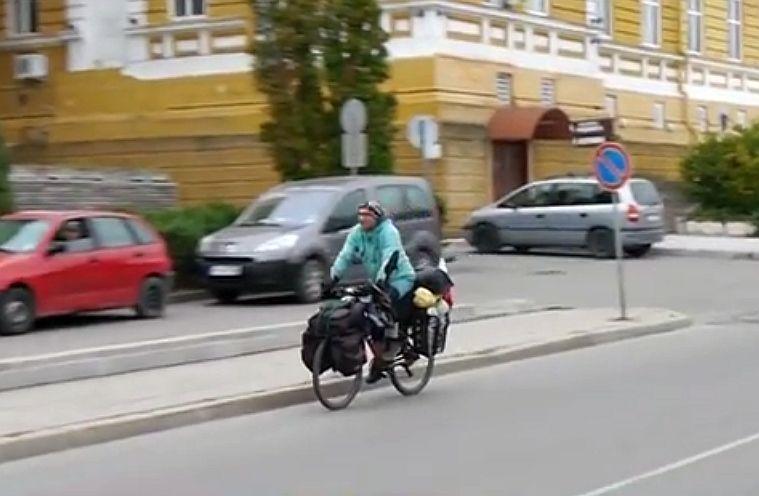 Шуменецът Венцислав Илиев въртя педали