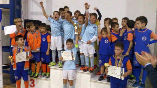 8-годишните футболисти