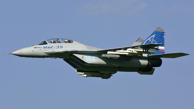 Започнаха изпитателни полети на изтребителя МиГ-35