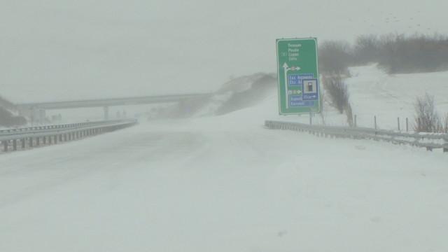 Пътя Русе – Варна е затворен