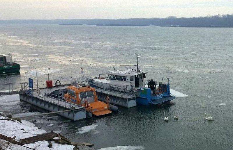 Дунав отпусна ледената прегръдка