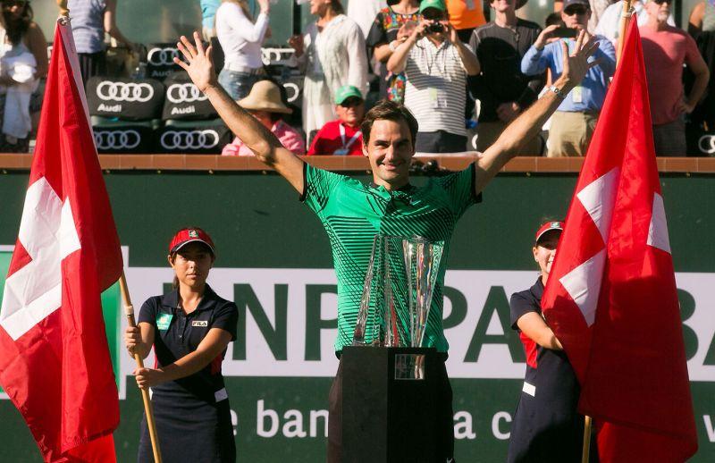 Федерер триумфира с пета титла в Индиън Уелс