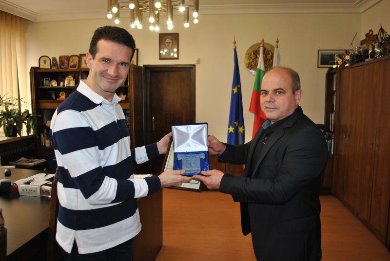 Известният български цигулар Светлин Русев