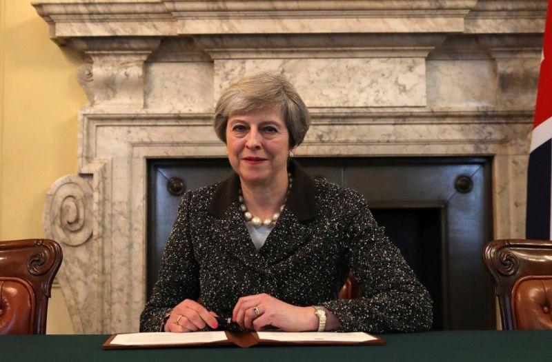 Британският премиер Тереза Мей