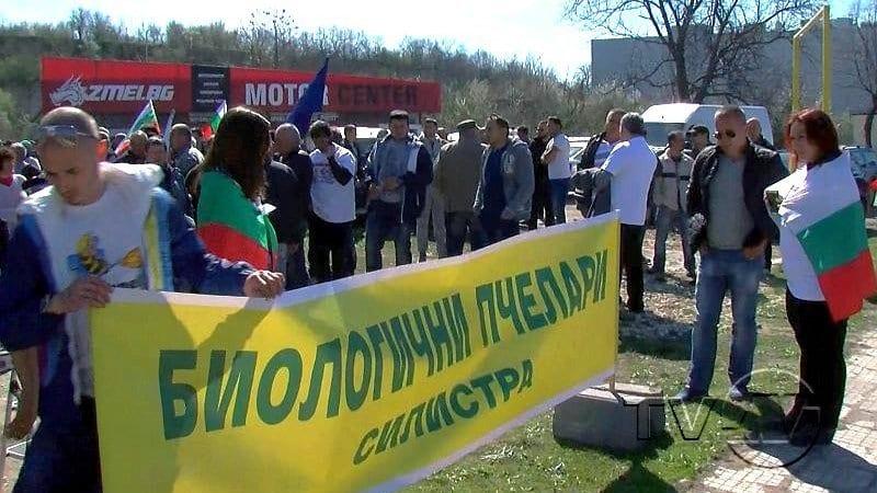 "Земеделци блокираха ""Дунав мост"""