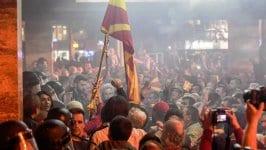 Драматичен четвъртък в Македония