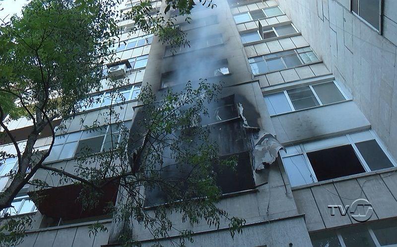 Взрив последван от пожар