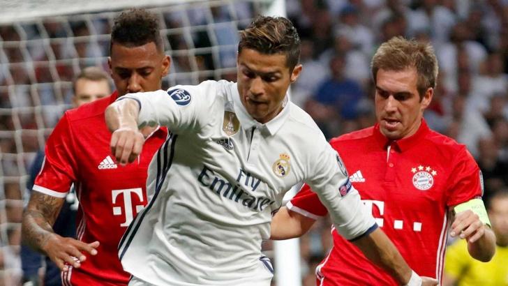 """""""Реал"""" (Мадрид) се класира за полуфиналите на Шампионска лига"""