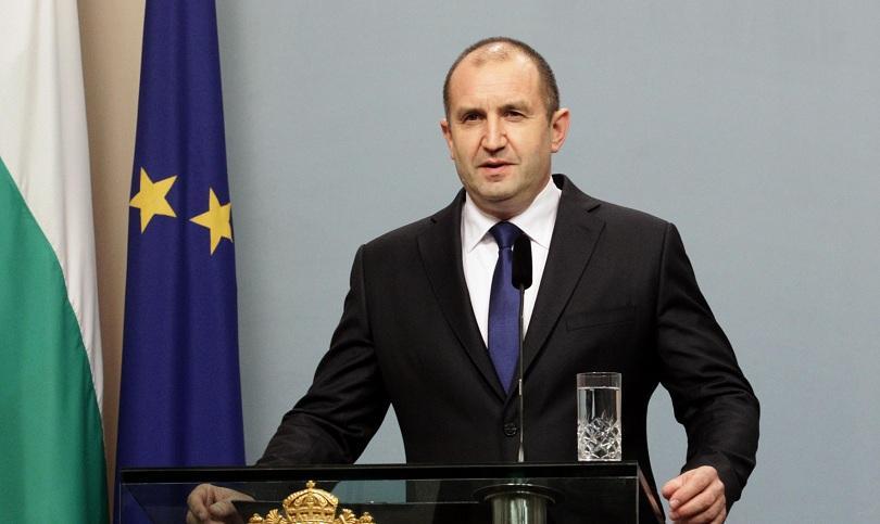 Президентът Румен Радев наложи вето върху Закона