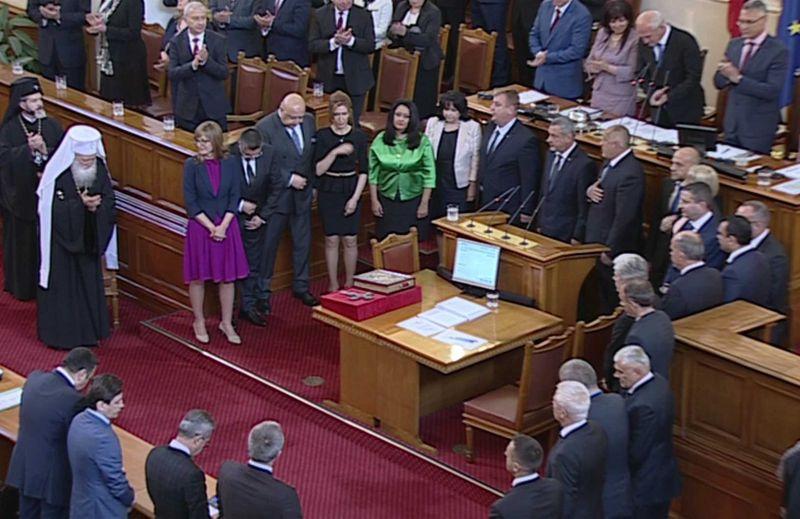 Народното събрание гласува и одобри Бойко Борисов