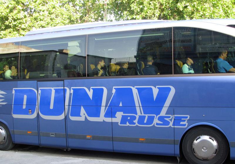 """Футболистите на """"Дунав"""" ще пътуват близо денонощие"""