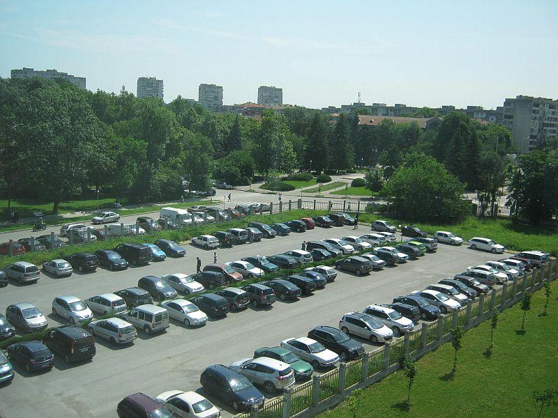 паркинга пред офиса на НАП