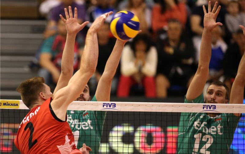 Волейболистите от националния отбор на България