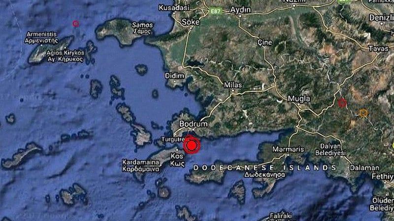 Силно земетресение разтърси островите в Егейско море, има жертви